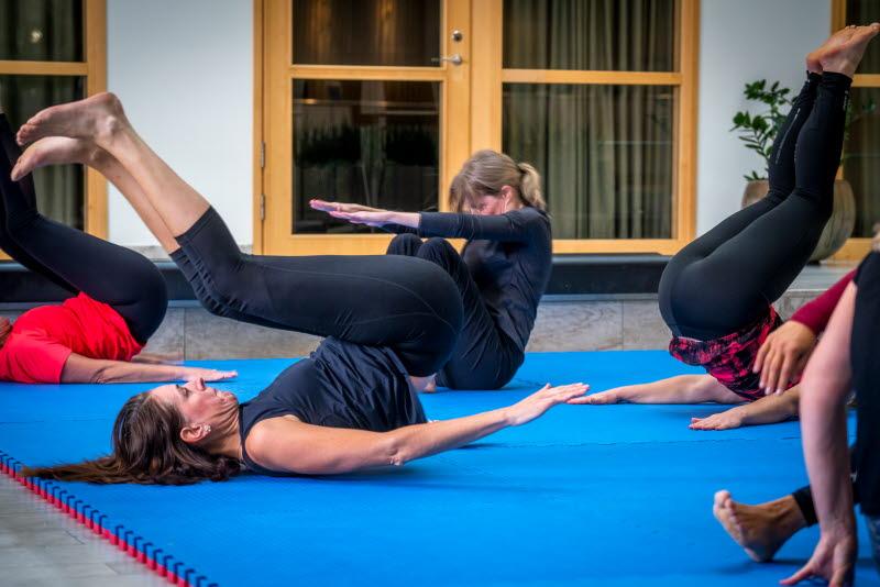 Kontorspersonal får judoinspirerad fallträning